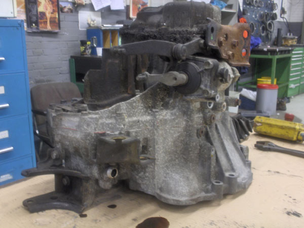 Dismantling the C52 gearbox