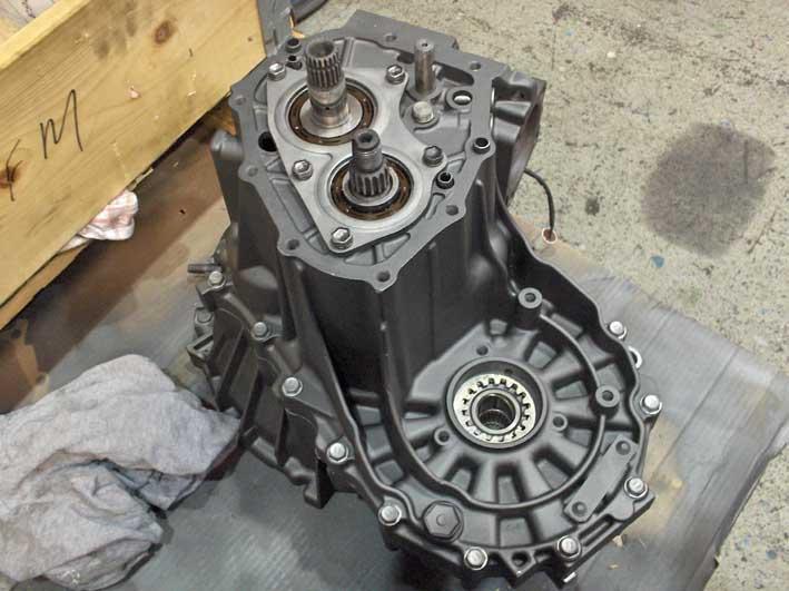 Rebuilding the C52 gearbox