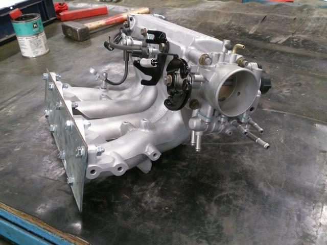 4A-GE Smallport intake manifold measurements -